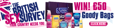 The British Sex Survey win goody bags