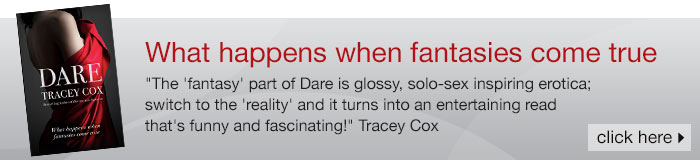Dare Sex Fantasy Book by Tracey Cox Erotic Fiction