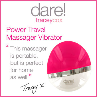dare! Power Travel Massager Vibrator by Tracey Cox