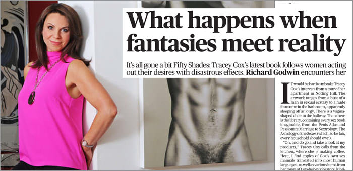 Tracey Cox Evening Standard Interview