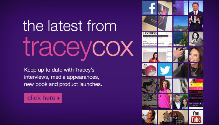 News from Tracey Cox!