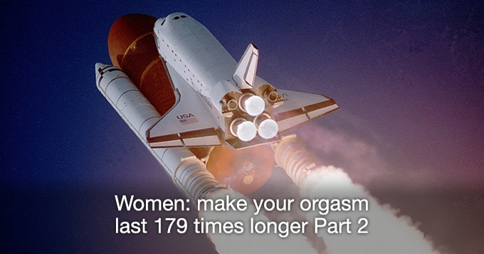 Make your orgasm last 179 times longer 2