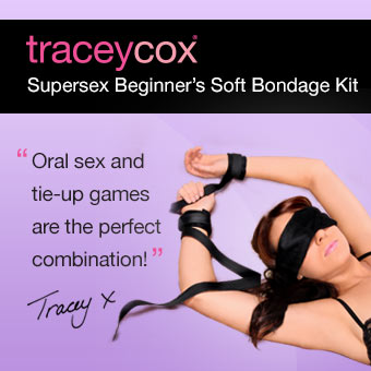 Tracey Cox Supersex Beginner's Soft Bondage Kit