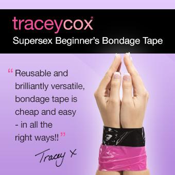 Tracey Cox Supersex Bondage Tape