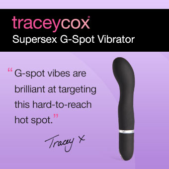 Tracey Cox Supersex G-spot vibrator