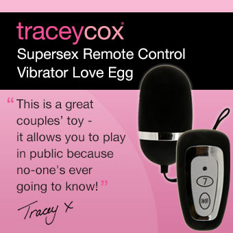 Supersex Remote Control Vibrator Love Egg by Tracey Cox