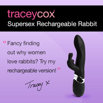 Tracey Cox Rechargeable Rabbit Vibrator