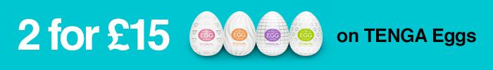 2 for £15 on TENGA Eggs