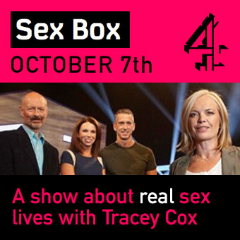 Tracey Cox in new Channel 4 TV show!
