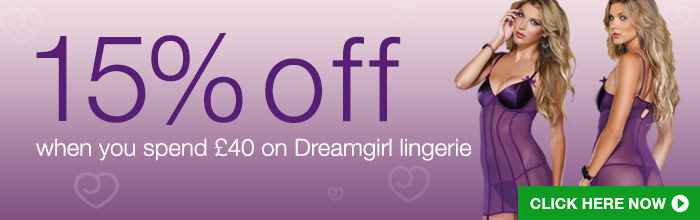15% off Dreamgirl lingerie