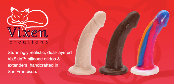 Vixen Realistic Dildos and Penis Extenders
