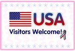 USA Visitors Welcome