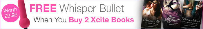 Whisper Bullet with 2 Xcite Books
