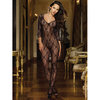 Dreamgirl Black Diamond Schmetterling-Bodystocking