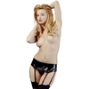 Black Level PVC 6 Strap Garter Belt