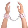 Bondage Boutique Leather Pleasure Handcuffs