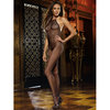 Dreamgirl Black Diamond Seamless Crotchless Fishnet Bodystocking