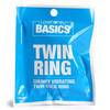 BASICS Vibrating Twin Cock Ring