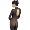 Mandy Mystery Sheer High Neck Crotchless Bodystocking
