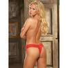 Dreamgirl Stretch Lace Crotchless Thong