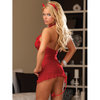 Ensemble robe 3 pièces diablesse Red Diamond par Dreamgirl