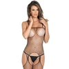 Rene Rofe Fishnet Crotchless Bodystocking