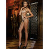 Dreamgirl Black Diamond Fence Net Crotchless Bodystocking