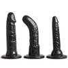 Unisex Strap On Harness Kit with 3 Realistic Dildos