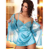 Beauty Night Sweet Paula Peignoir Chemise and G-String Set