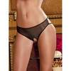Rene Rofe Crotchless Knickers with Cage Back