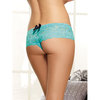 Dreamgirl Floral Lace Crotchless Knickers