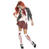 Fever High School Horror Zombie Schoolgirl Costume