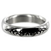 Stainless Steel 1.75 Inch Tribal Design Cock Ring
