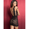 Oh La La Cheri Stretch Lace Mini Dress