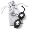 Boules de geisha silicone Delicious Pleasure 64 g, Fifty Shades of Grey