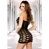 Fantasy Cut Out Strapless Mini Dress