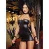 Dreamgirl Playroom Pet Shiny Strapless Dress