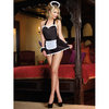 Dreamgirl Dirty French Maid Costume Set