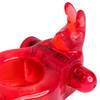 Double Penetrator Strap-On Vibrating Rabbit Cock Ring