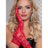 Seven Til Midnight Lace Elbow Length Gloves