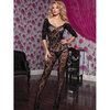Seven Til Midnight Crochet Floral Lace Bodystocking