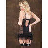 Oh La La Cheri Sheer Babydoll with Ruffles and G-String
