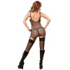 Exposed Sexy Fishnet Dress and G-String Set