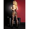 Music Legs Open Cup Crotchless Lace Bodystocking