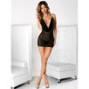 Escante Sheer Chemise with Plunging Cowl Neck