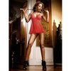 Baci Lingerie Sheer Floaty Babydoll Set