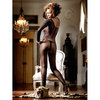 Baci Lingerie Long Sleeved Fishnet Bodystocking