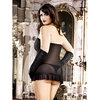 Baci Lingerie Plus Size See Through Tube Dress