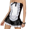 Beauty Night French Maid Strapless Mini Dress