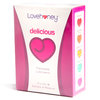 Assortiment 10 sachets de lubrifiants parfumés 5 ml par Lovehoney